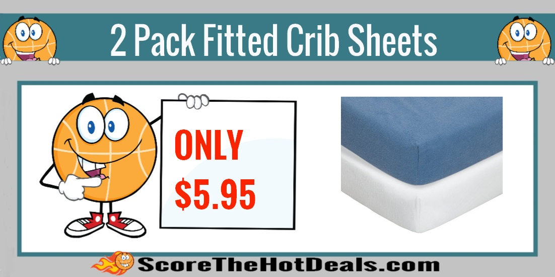 Fitted Crib Sheets 2 Pack