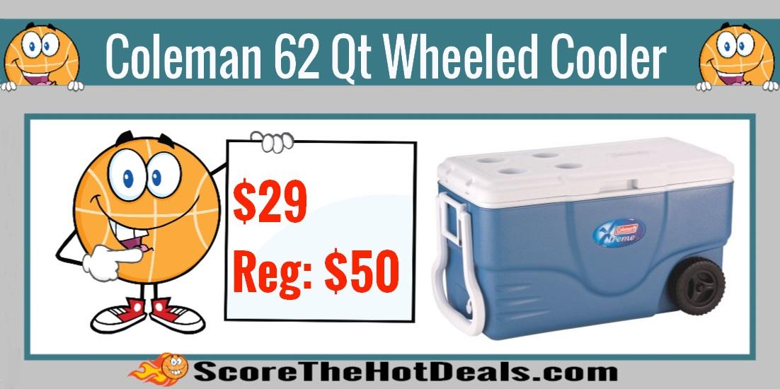 Coleman 62 Quart Xtreme Wheeled Cooler