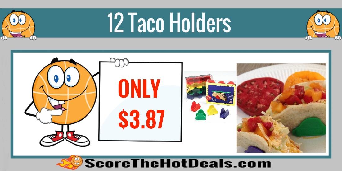 12 Taco Holders