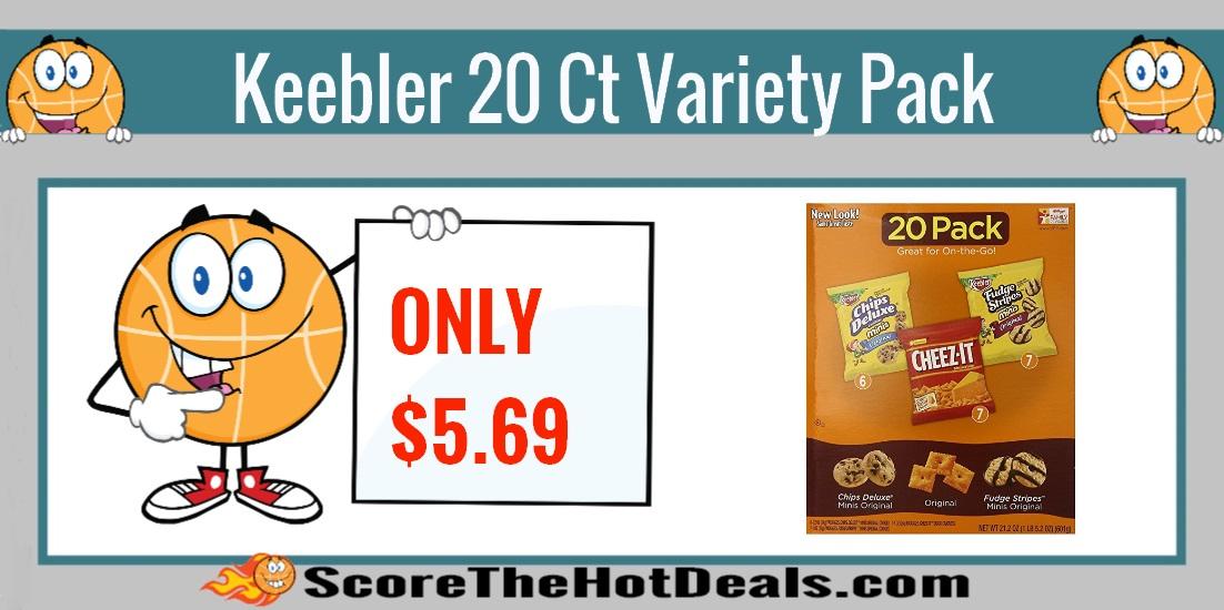 Keebler 20 Ct. Variety Pack