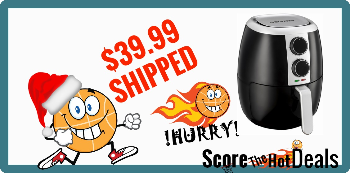 Gourmia 4.5Qt Hot Air Fryer
