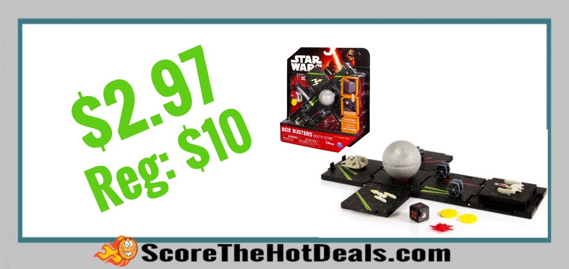 Star Wars Box Busters Death Star Super Playset