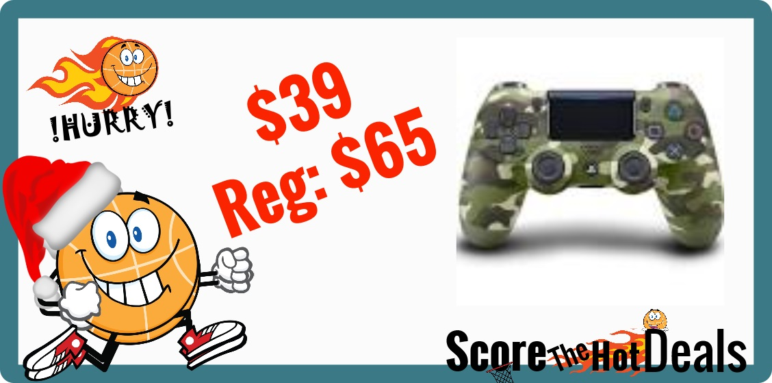 Camouflage DualShock Wireless Controller for PlayStation 4