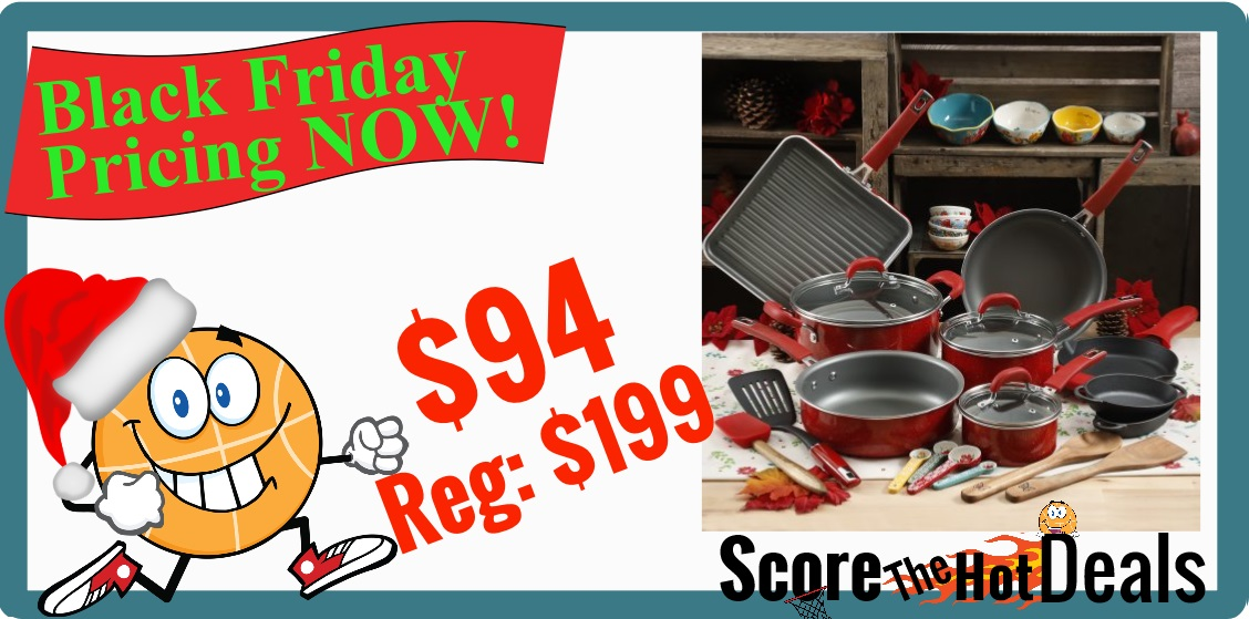 The Pioneer Woman 30pc Cookware Set