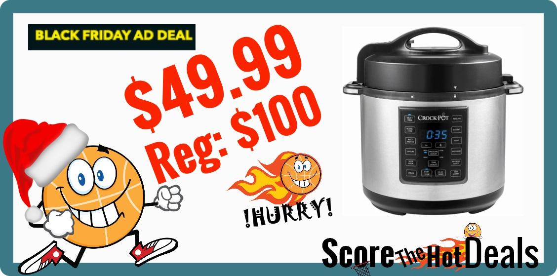Crock-Pot 6 Quart Pressure Cooker