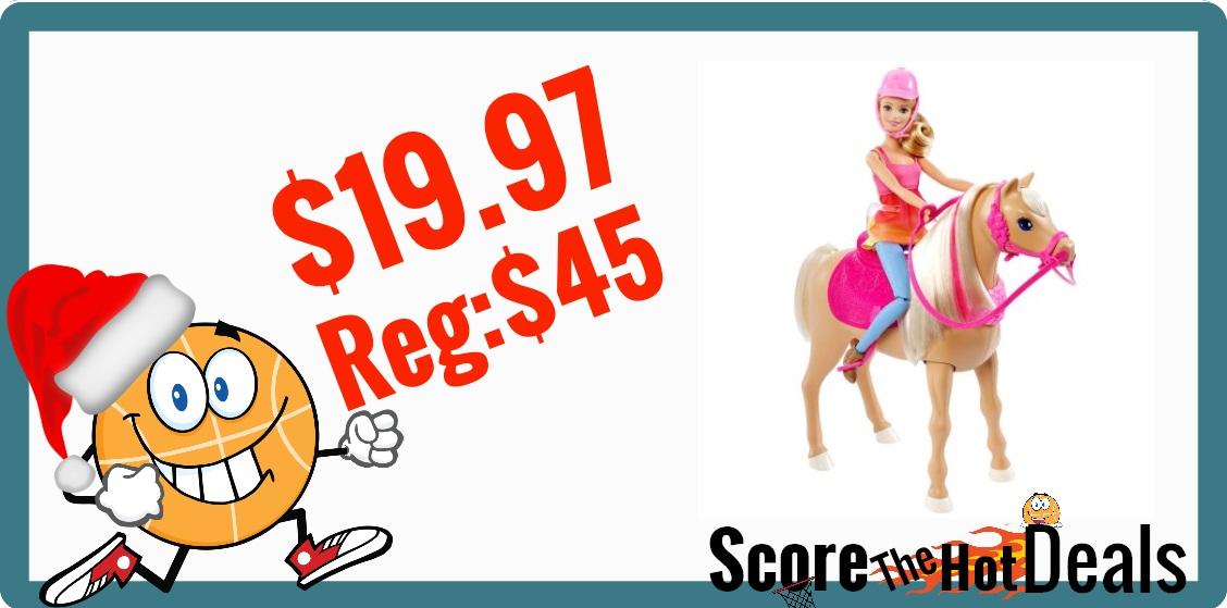 Barbie Dancin Fun Horse