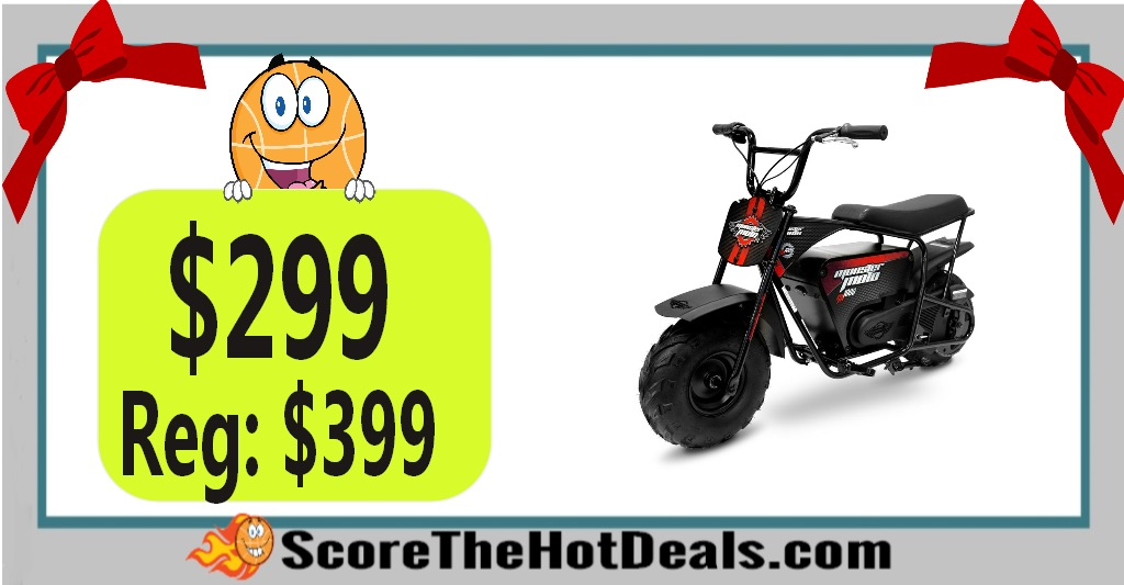 1000-Watt Electric Mini Bike