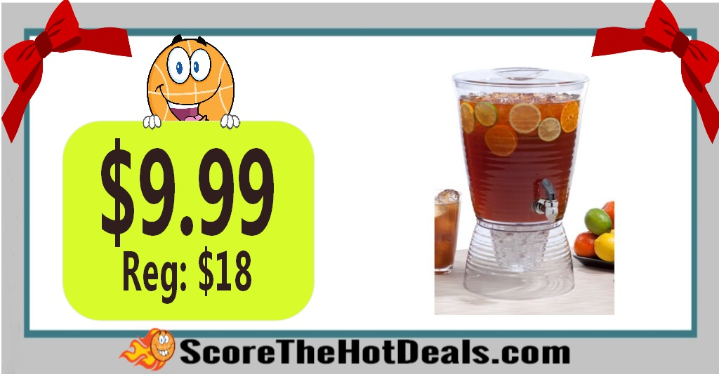2.5-Gallon Beverage Dispenser