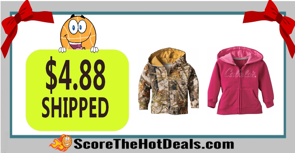 Cabela's Infants'/Toddlers' Hooded Sweatshirt Jacket