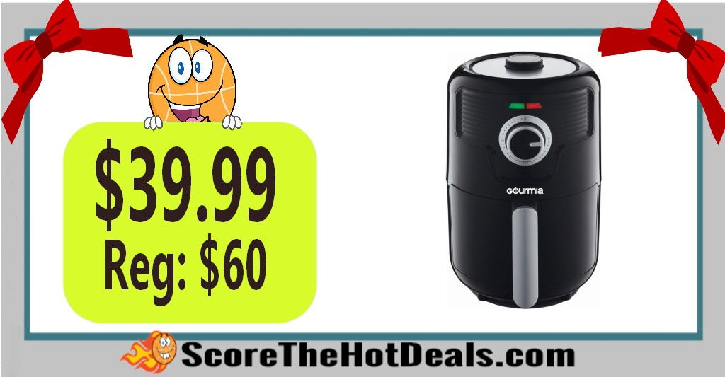Gourmia 2.2Qt Hot Air Fryer