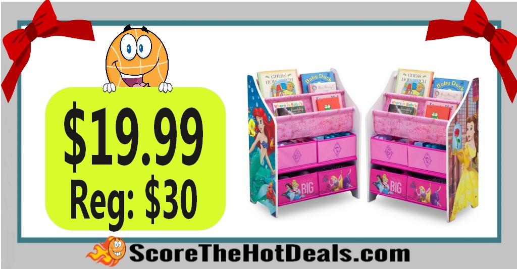 Disney Princess Book & Toy Organizer