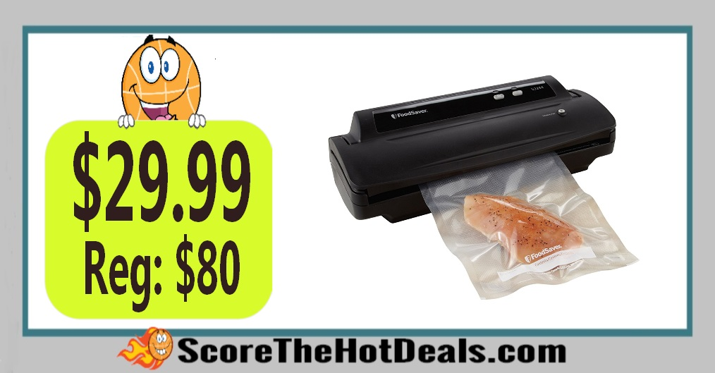 FoodSaver Vacuum Sealing System with Starter Kit