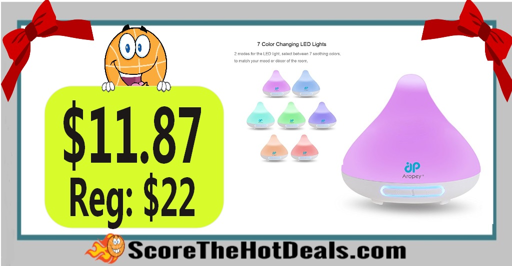 Aropey 7 Color Essential Oil Diffuser