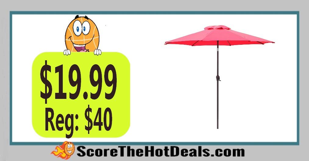 9 Ft. Crank Lift Patio Umbrella