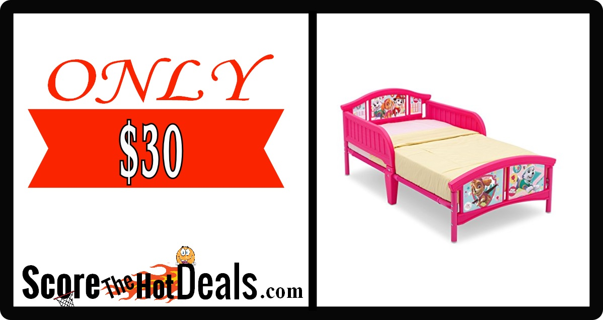 Paw Patrol Toddler Bed Featuring Skye & Everest
