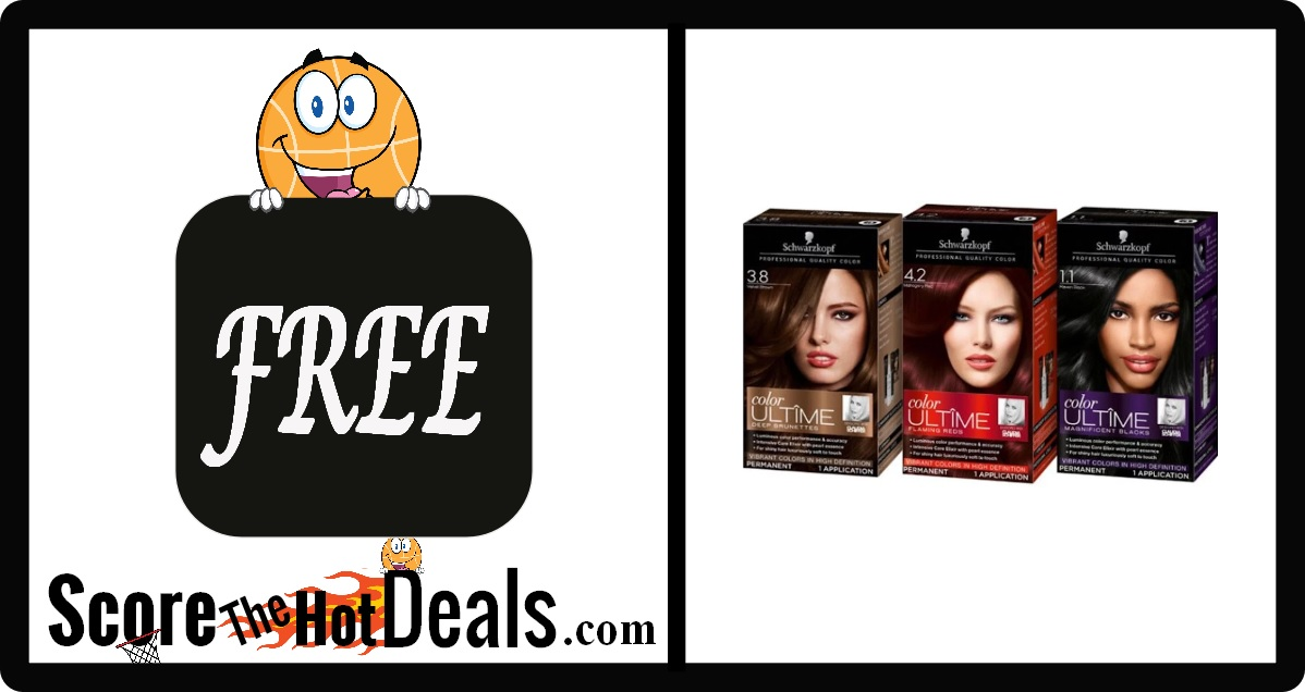 Schwarzkopf ULTIME or Keratin Hair Color after Rebate