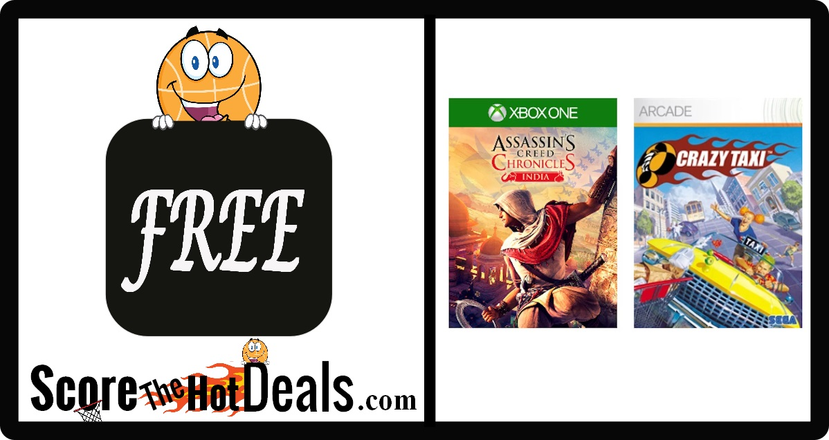 FREE Games For XBox Live Gold Members
