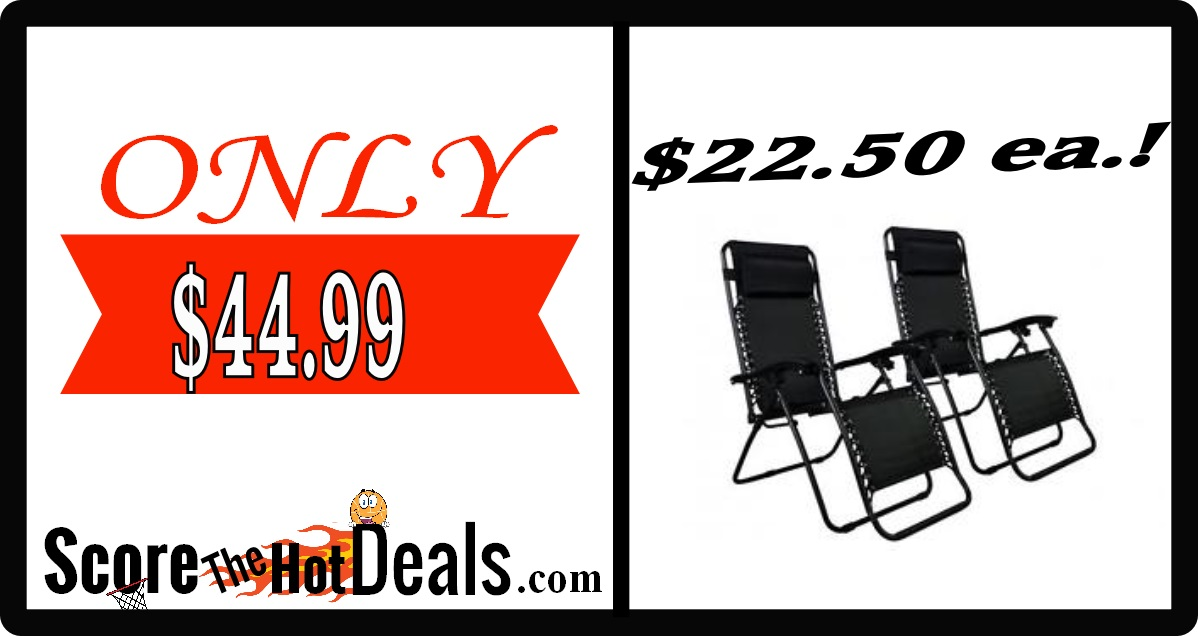 Zero Gravity Patio Chairs