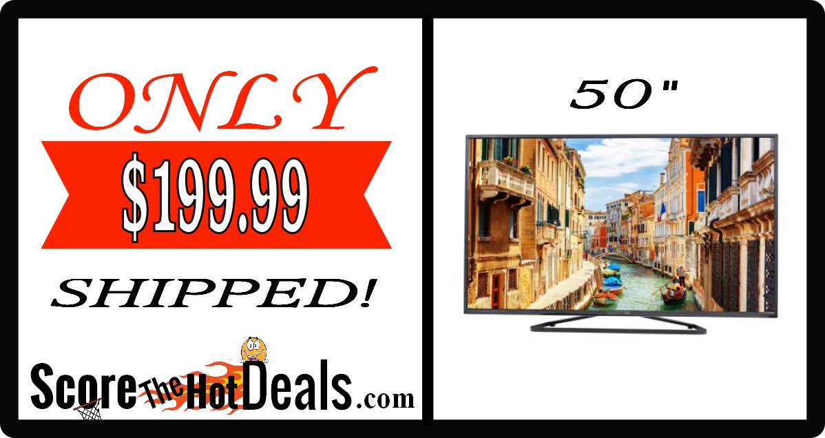 "Sceptre 50"" LED TV"