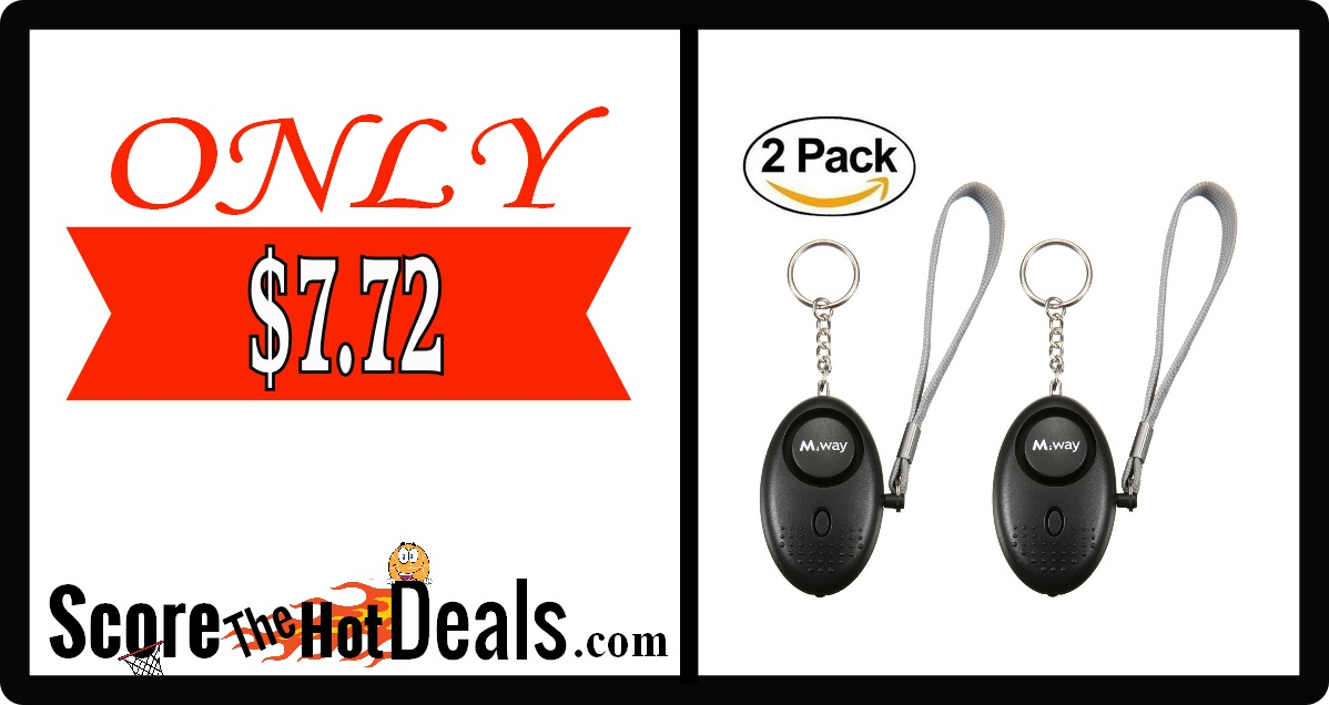Personal Alarm Keychain (2 pack)