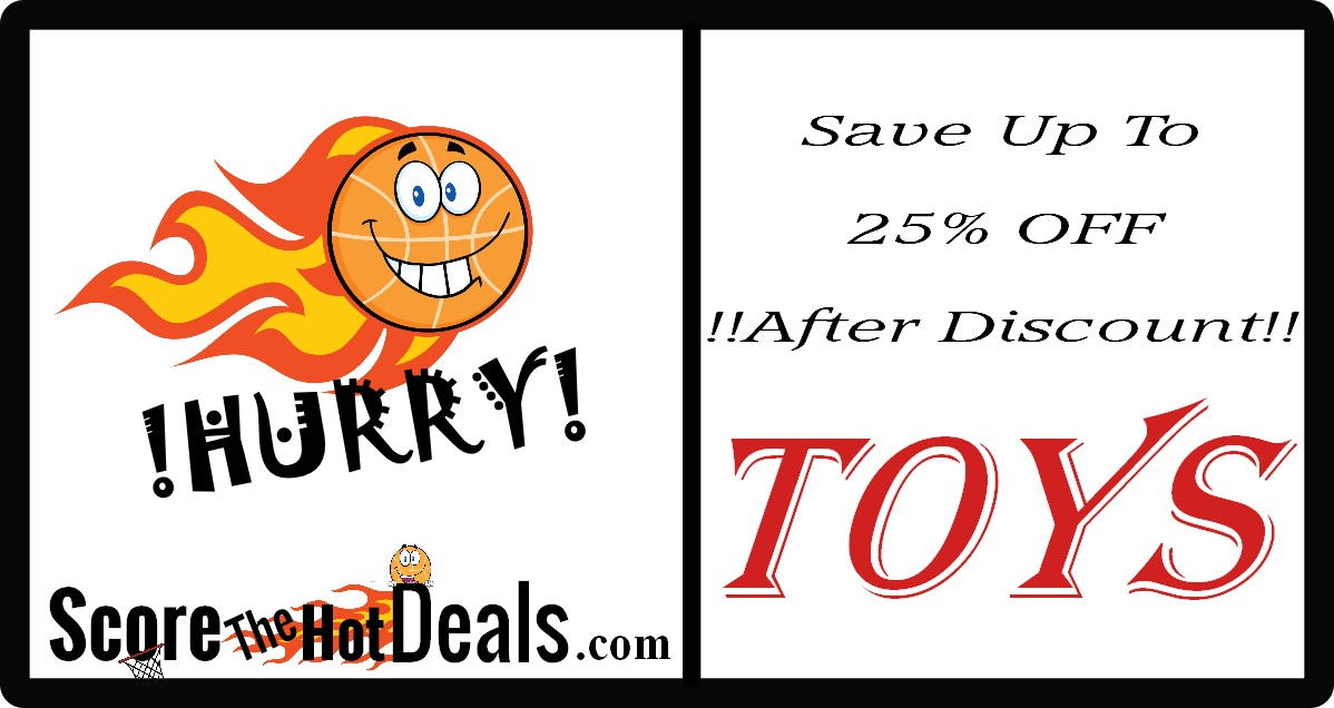 Spend & Save On Toys