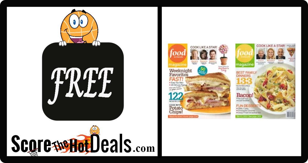 Food Network Magazine Subscription
