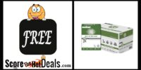 EXPIRED: F.R.E.E 10 Ream Case Of paper (5,000 Sheets!) - After Rebate!