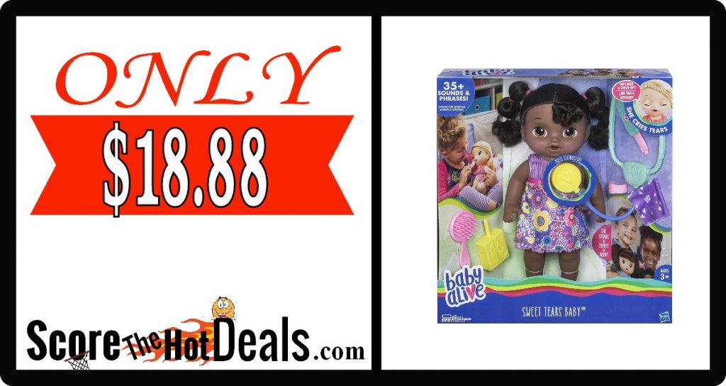 Baby Alive Sweet Tears (African American) Doll