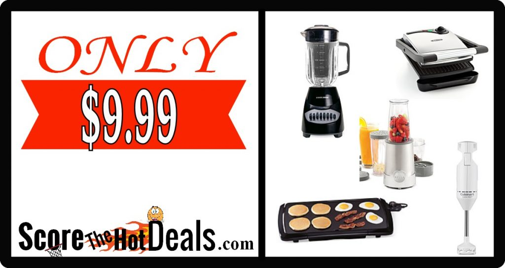 select small appliances