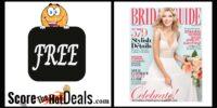 **FREE** Bridal Guide Magazine Subscription!