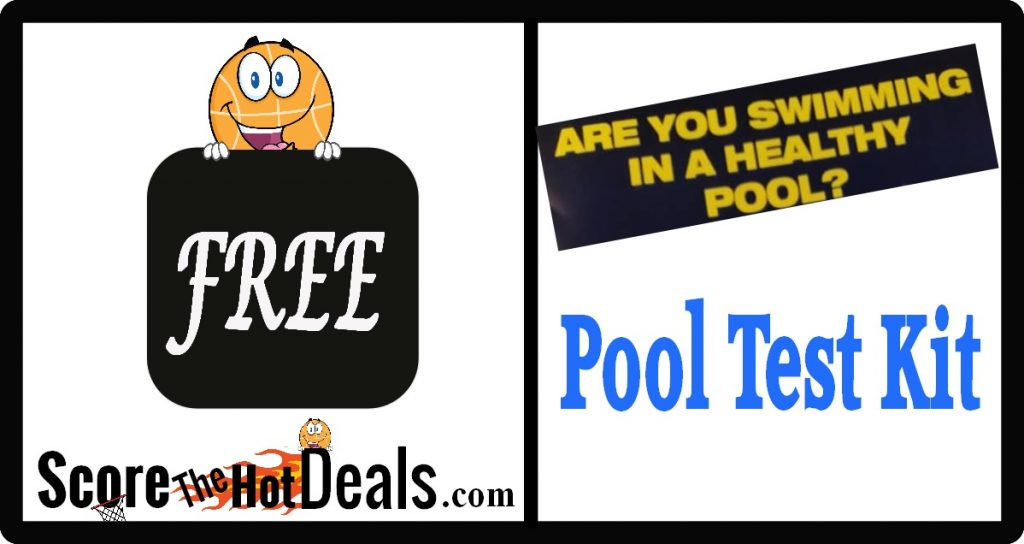 *FREE* Chlorine & PH Pool Test Strips!