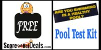 *FREE* Chlorine & PH Pool Test Strips!
