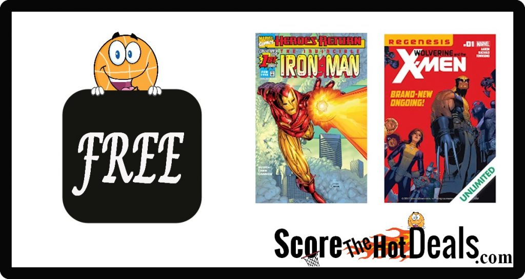 free digital comic books