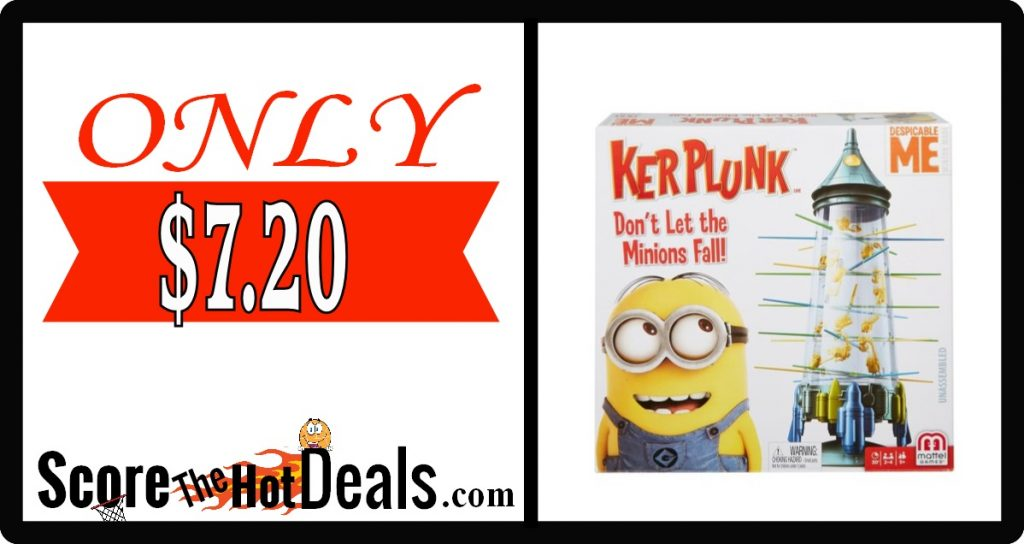 Minions KerPlunk Game - ONLY $7.20!