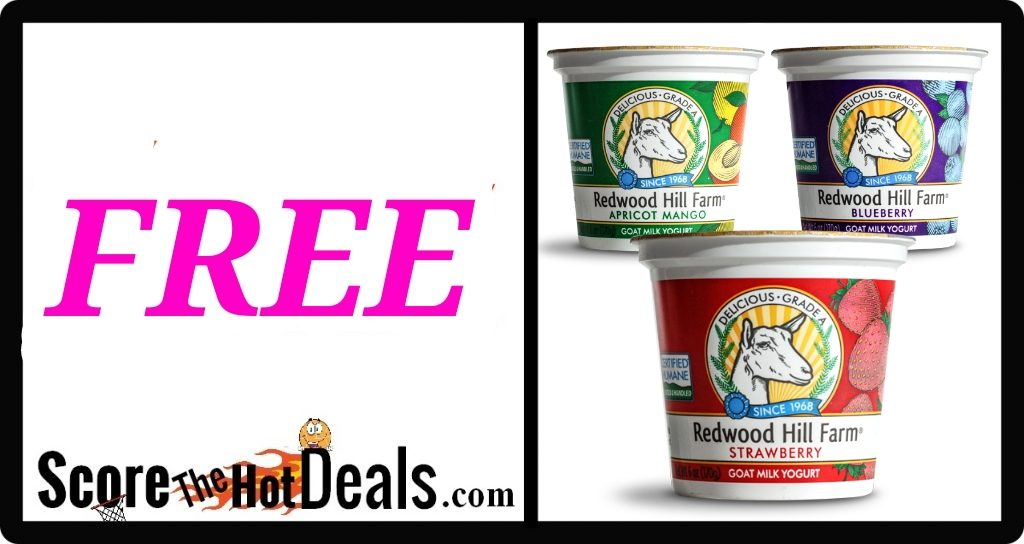 F.R.E.E Redwood Hill Farm Yogurt Cup!