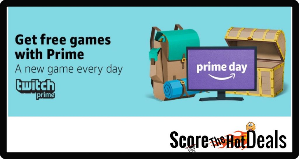 Twitch Gamers...Score a FREE Game EVERY DAY!