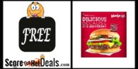 **FREE** Dave's Single Burger At Wendy's - with any purchase!