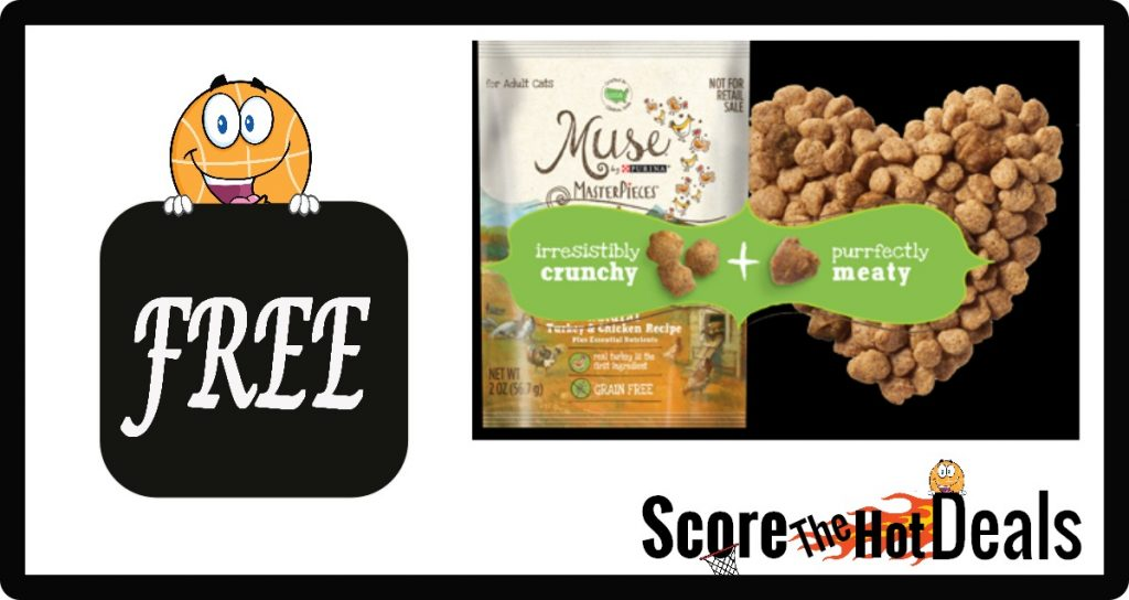 Muse MasterPieces Cat Food Sample!