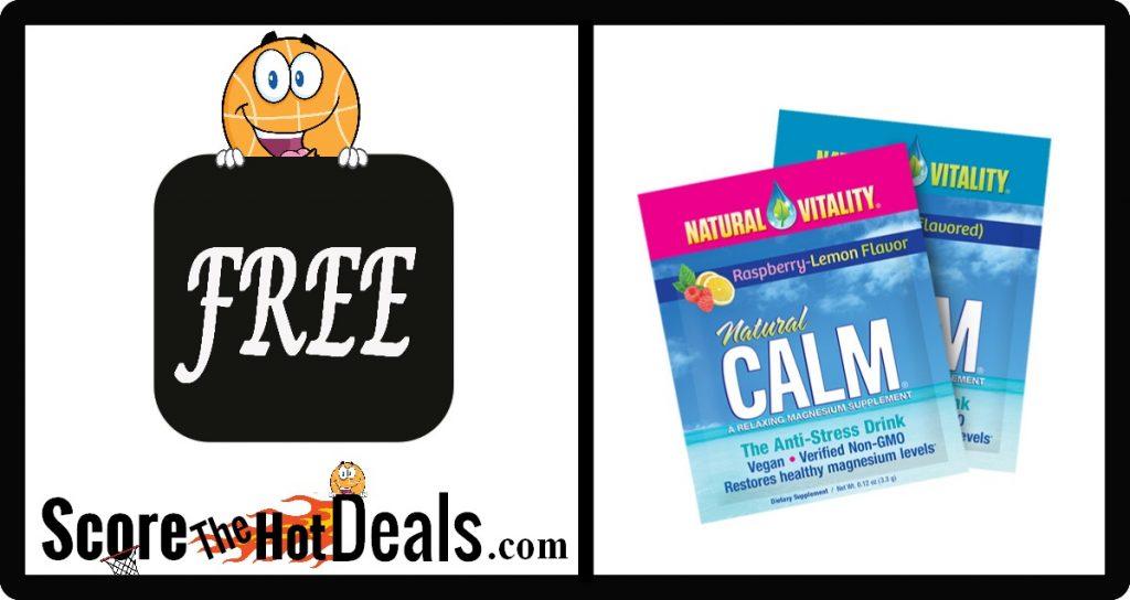 **FREE** Sample Of Natural Vitality CALM!