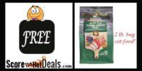 **FREE** 2 Lb. Bag Of Grain Free Fussie Cat Food!