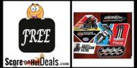 **FREE** Harley-Davidson Racing Sticker Pack!