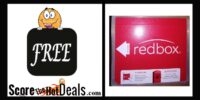 **FREE** Redbox Rental!