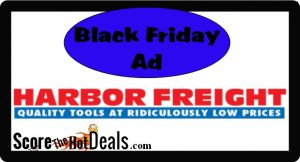 Harbor Freight Black Friday Ad Leaked!