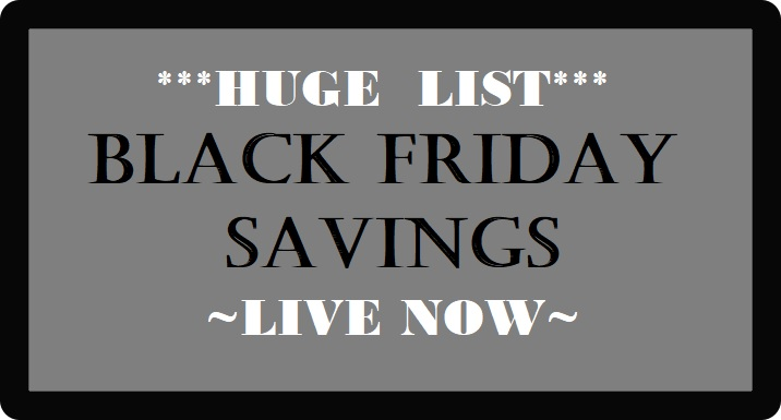 The BEST Black Friday Deals LIVE NOW!