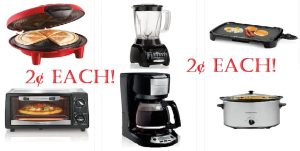 2¢ Small Appliances - After All Stacking Offers!