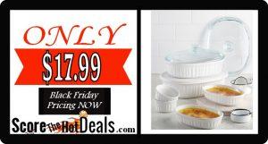 10 Piece Corningware Bake Set - ONLY $17.99 After Rebate!