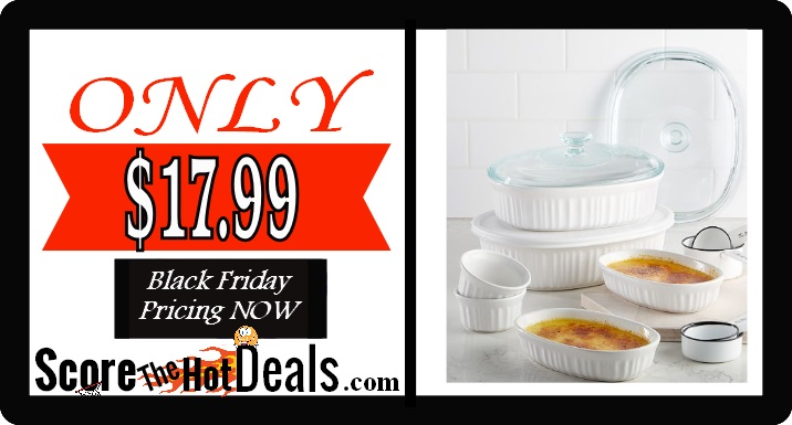 Hurry On Over To Macy S Where Black Friday Is Live Now And Score 10 Piece Corningware Bake Set For Only 17 99 After The Mail In Rebate