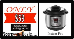 Instant Pot LUX80 8 Qt 6-in-1 - ONLY $59!