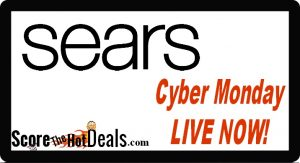 Cyber Monday LIVE NOW - At Sears!