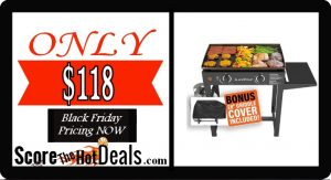 """Blackstone 28"""" Griddle - ONLY $118!"""